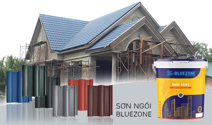 Sơn ngói Bluezone