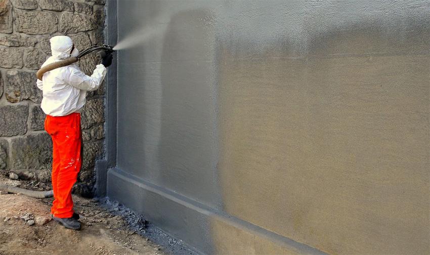 Cách pha sơn chống thấm xi măng