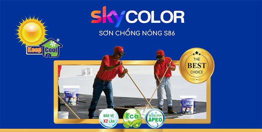 Top 2 thương hiệu sơn chống nóng tốt nhất